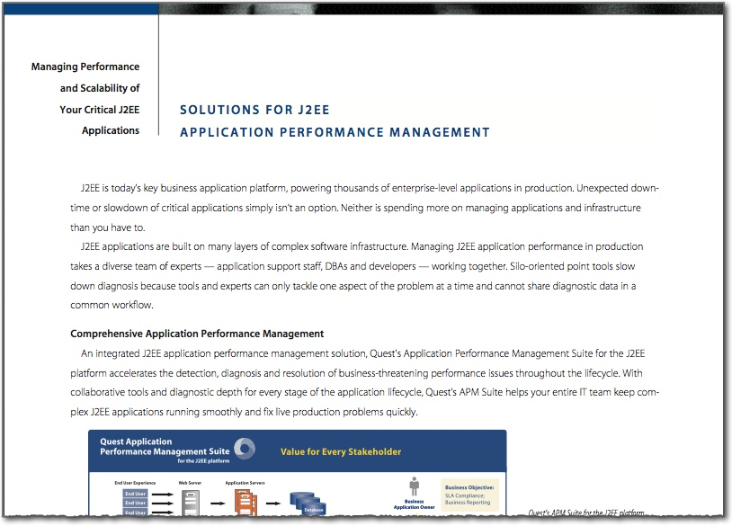 B2B Software Brochure